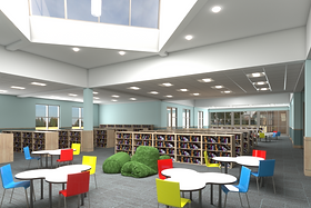 East Meadow Children's Library Rendering