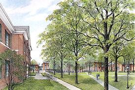 PHS-Ward-quad-new Landscape Rendering #3