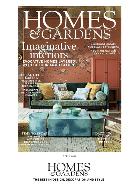 Katharine Paravicini on Homes & Gardens