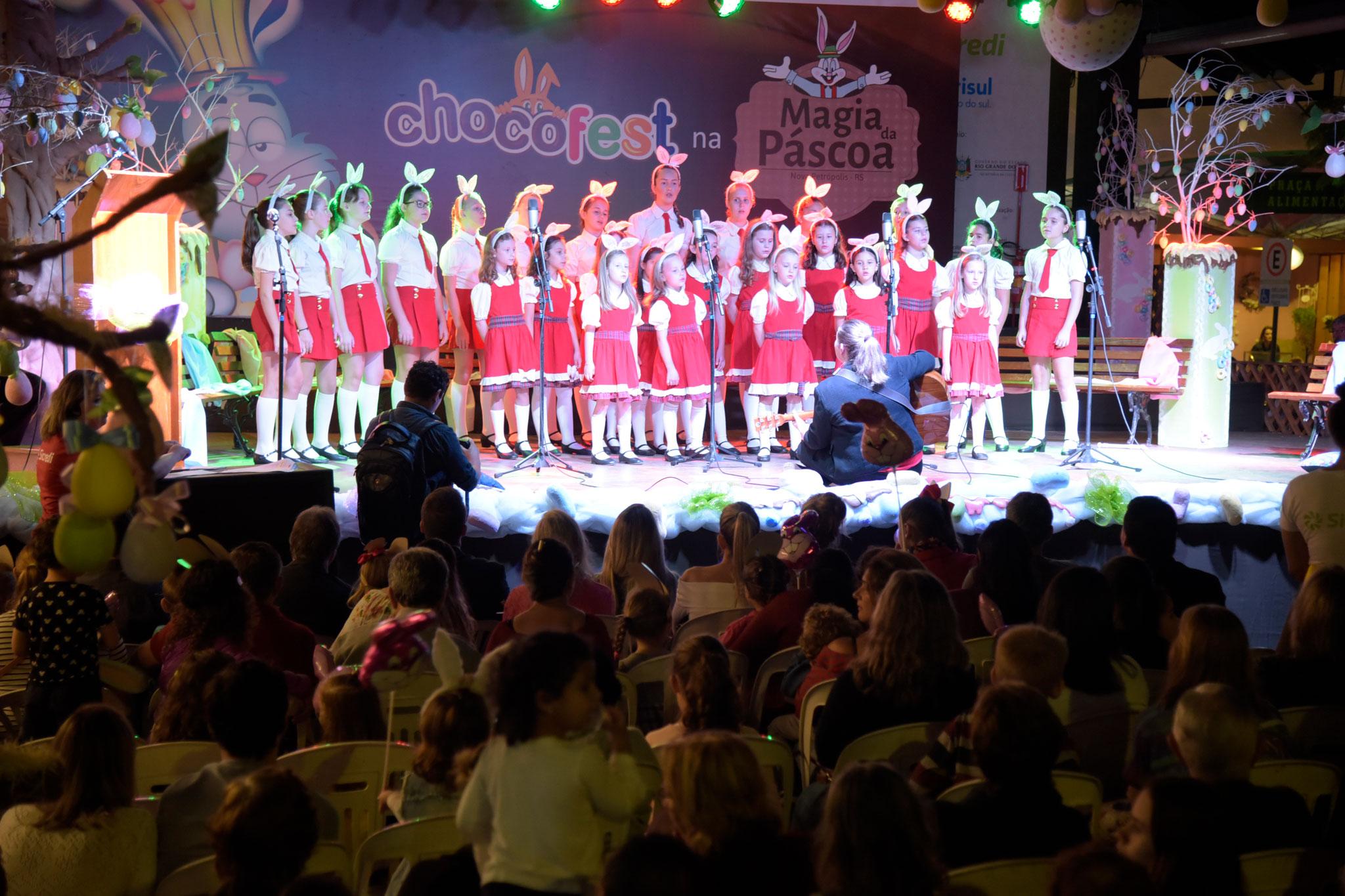 meninas cantoras