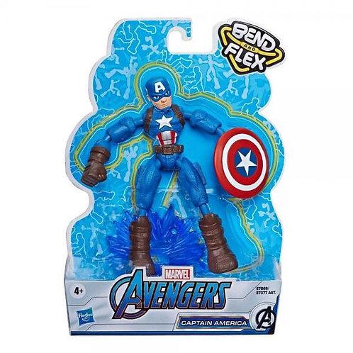 Figuras Avengers (Bend and Flex)Dobla y Flexiona Surt/4 4a+