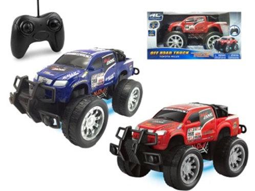 Carro Radio Control Toyota Hilux Rally Racer 1:16 Surt/2 5a+