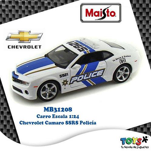 Carro 1:24 Chevrolet® Camaro® SSRS Policía 3a+
