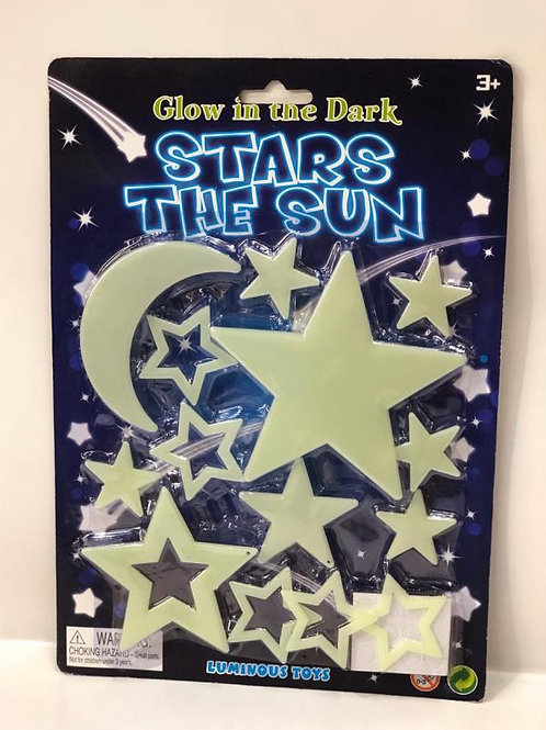 Estrellas Brillan en la Oscuridad Surt/2 3a+(438001)