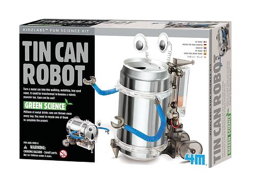Green Science Crea Tu Robot de Envase de Metal 8+
