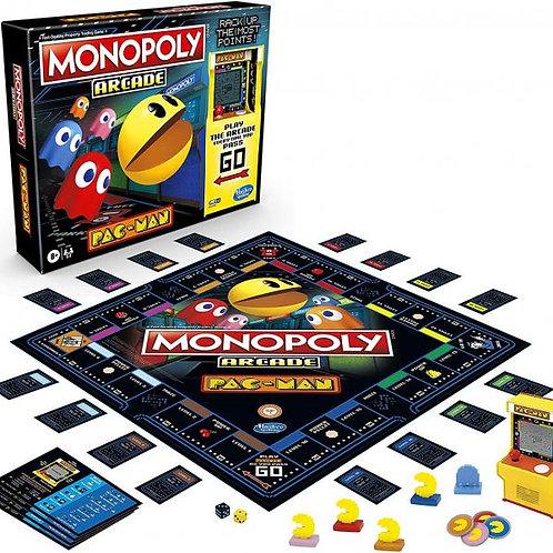 Juego de Mesa Monopoly Arcade Pac-Man 8a+