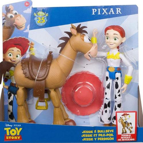 Figura Toy Story Set de 2 3a+(Jessie-Tiro al Blanco)(Buzz LYear-Trixie)