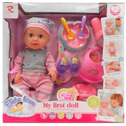 Mi Primer Bebé Tutu Love C/Accesorios 3a+(433105)
