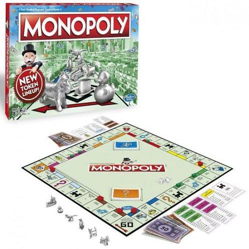 Juego de Mesa Monopoly Clasico Nuevos Tokens 8a+