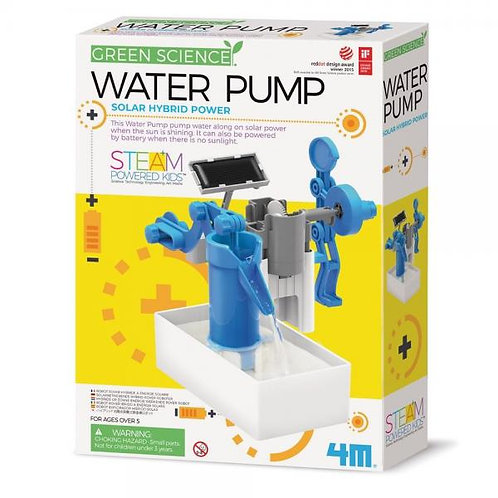 Green Science Bomba de Agua Híbrida de Energía Solar 5a+