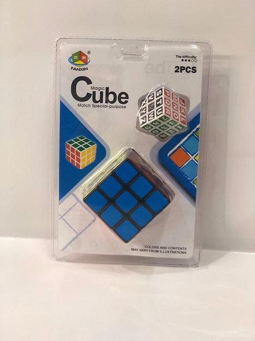 Cubo Mágico+Cubito 3x3 Set de 2 3a+(432351)