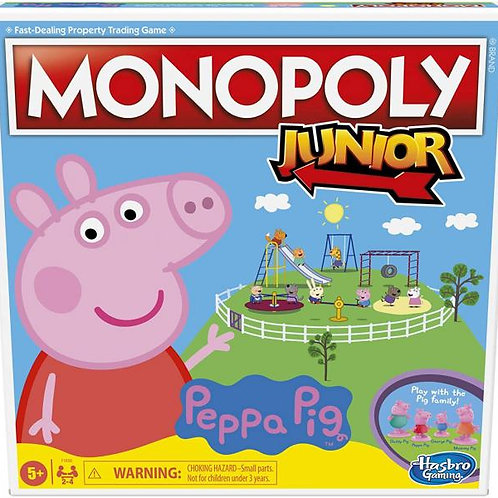 Monopoly Junior Peppa Pig 5a+