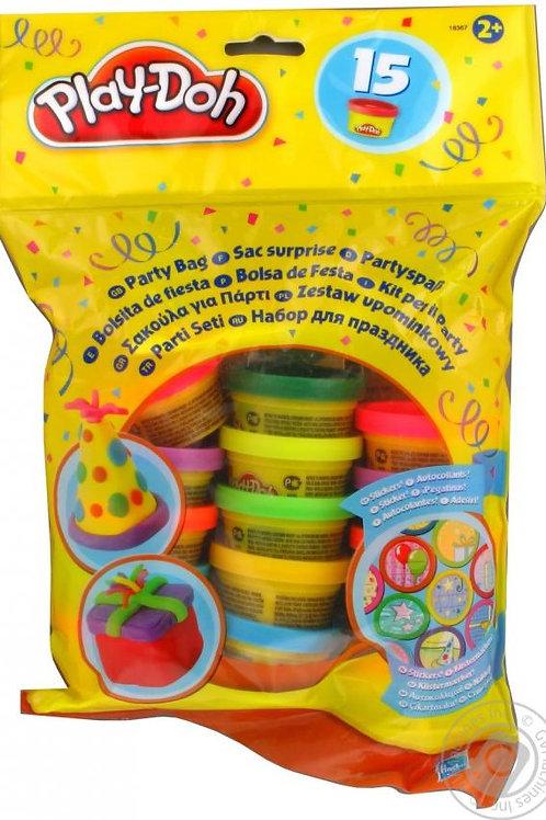 Bolsa de Fiesta con 15 Plasticinas y Stickers 2A+ CJ8