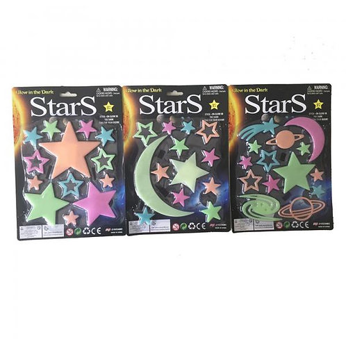 Estrellas Brillan en la Oscuridad Surt/2 3a+(443678)