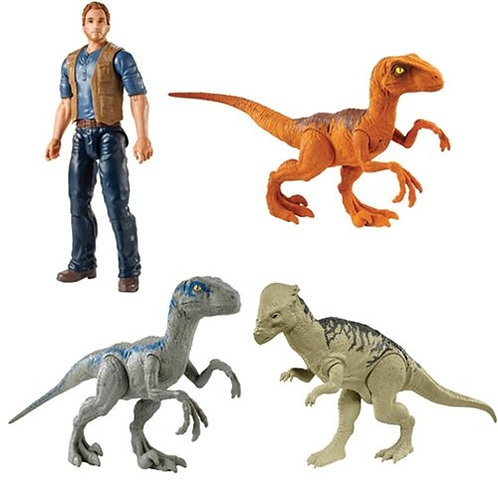 Figura Básica Jurassic World Surt/4 3a+