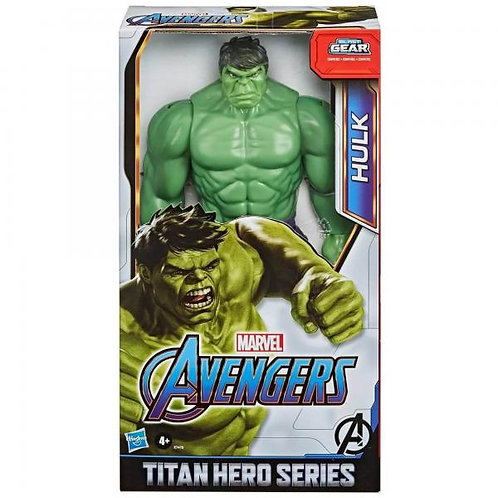 Figura Avengers Titan Hero Hulk 4a+
