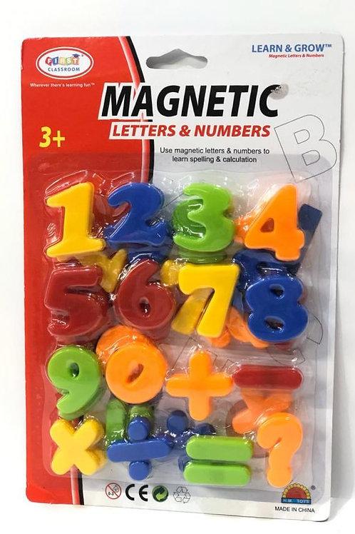 Letras y Numeros Magnéticos Grandes Surt/3 3a+ (438094)