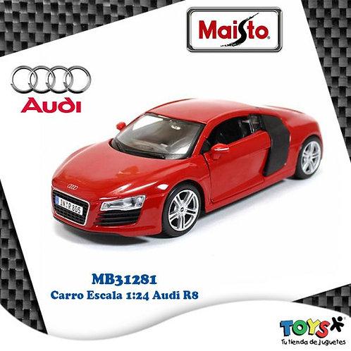 Carro 1:24 Audi R8 3a+