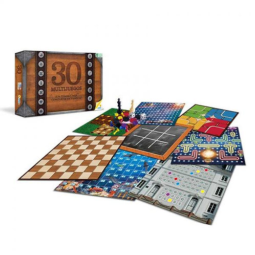 Juegos de Mesa Multijuegos 30 en 1 8a+
