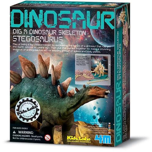 Cava y Arma Tu Fósil de Estegosaurio 8a+