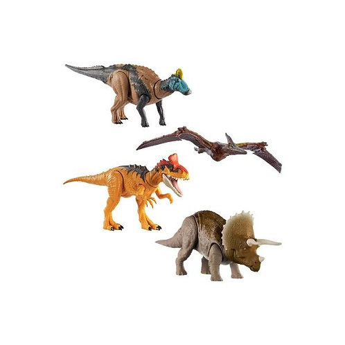 Dinosaurios Jurassic World Ruge y Ataca Surt/3 4a+