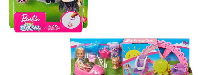 Combo(Barbie Club Chelsea Parque de Atracciones,Muñeca Barbie Club Chelsea)