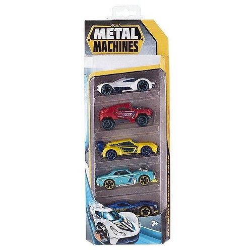Carro Metal Machines Set de 5 Surt/2 3a+