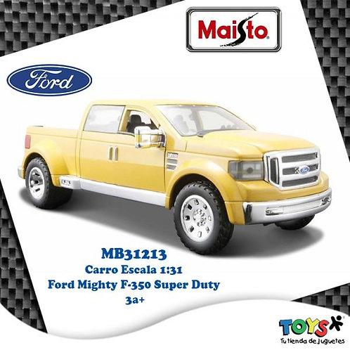 Carro 1:31 Ford Mighty F-350 Super Duty 3a+