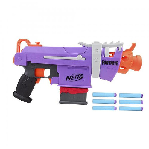 Lanzador Nerf Fortnite SMG-E 8a+