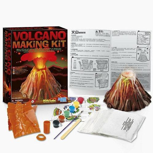 Crea y Pinta Tu Volcán 8a+