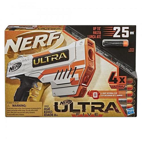 Lanzador Nerf Ultra Five 8a+