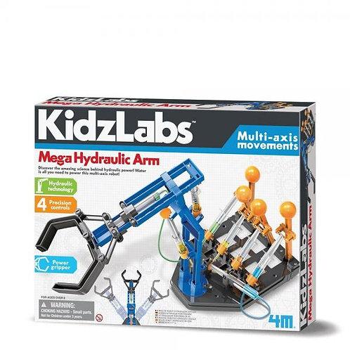 Kidzlabs Brazo Robot Hidráulico de Ejes 8a+
