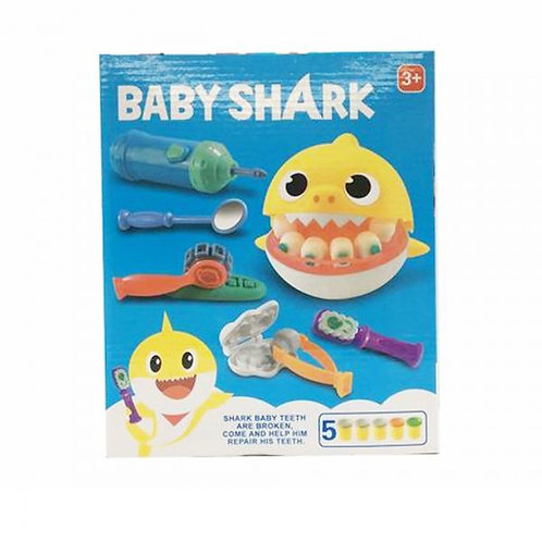 Juego Baby Shark Dentista con Plasticina 3a+ (443555)