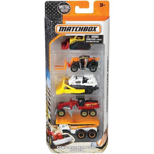 Carros Matchbox Set/5 unidades 3a+