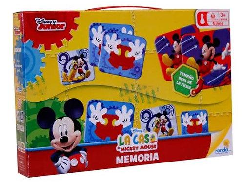 Juego Memoria la Casa de Mickey Mouse 3a+