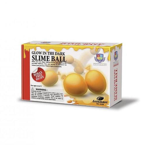Crea tus Bolas Slime Brilla en la Oscuridad Naranja 8a+
