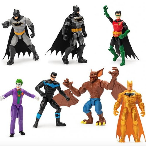 Figuras Básicas Batman 1º Edición Surt/7 3a+