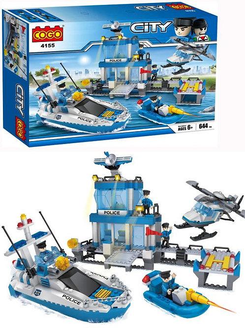 City Estación de Policía Marítima 644pzs 6a+