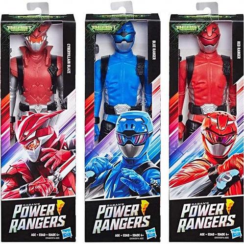 Figura de Accion Power Rangers Beast Morphes Surt/3 4a+