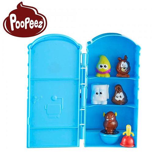 Mini Figuras con Porta-Potty Poopeez 4a+