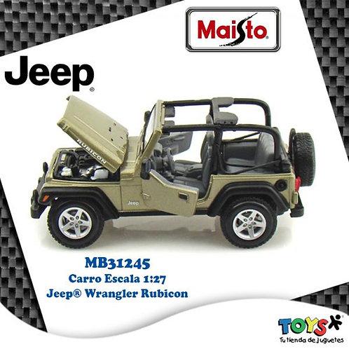 Carro 1:27 Jeep® Wrangler Rubicon 3a+