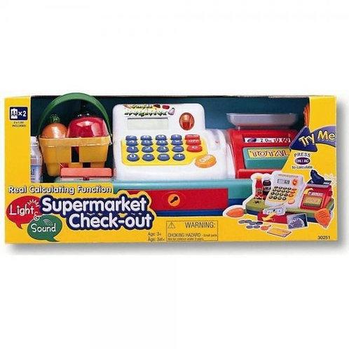 Caja Registradora d/Supermercado Electrónica para Niño 3a+