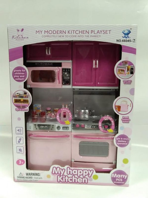 Mini Set de Cocina para Muñecas 3a+(436335)