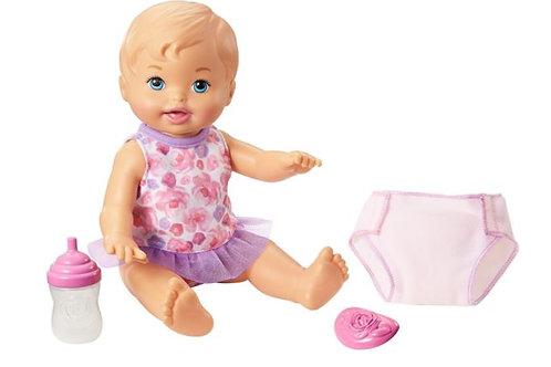 Bebé Mi Little Mommy Hora de Hacer Pipí 2a+