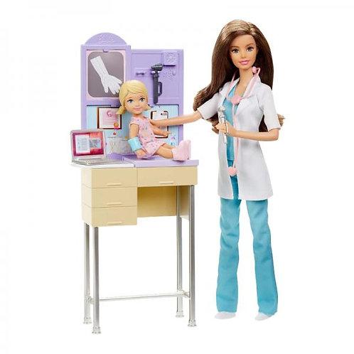 Muñeca Dra. Barbie Surt/5 3a+
