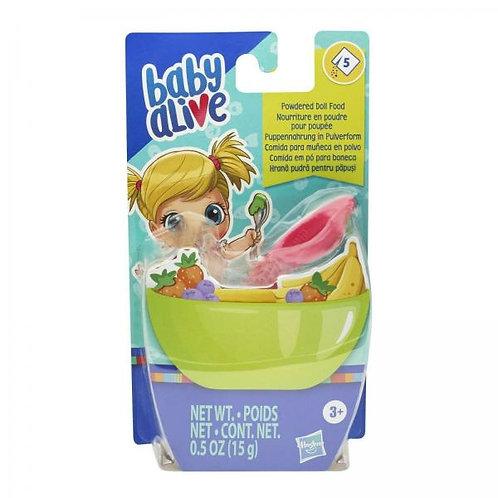 Baby Alive Comida para Muñeca en Polvo Set/5 3a+