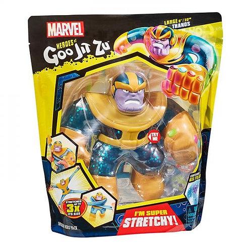 Figura Marvel Thanos Héroes Goo Jit Zu 4a+