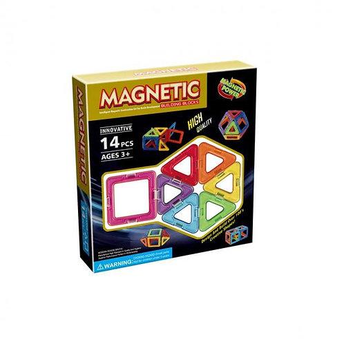 Bloques de Construcción Mágneticos 14pzs 3a+(432085)