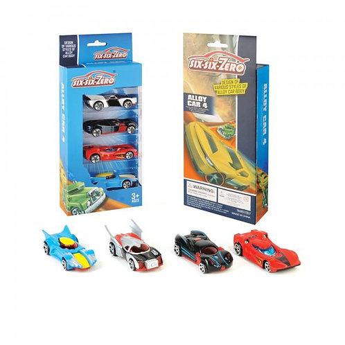 Carros Six-Six-Zero Set de 4 3a+ (440592)