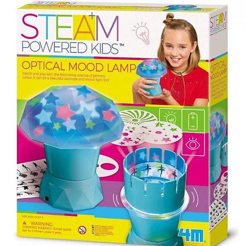 Girl Steam Lámpara Óptica Ambiental 8a+